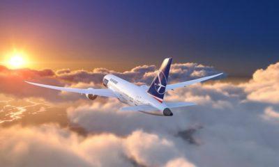 LOT samolot linie lotnicze